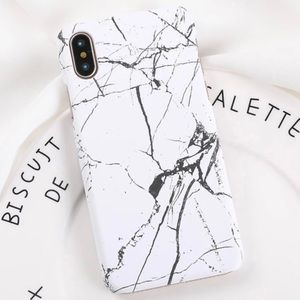 Accessories - LAST 1! iPhone X/Xs White Marble Stone Phone Case